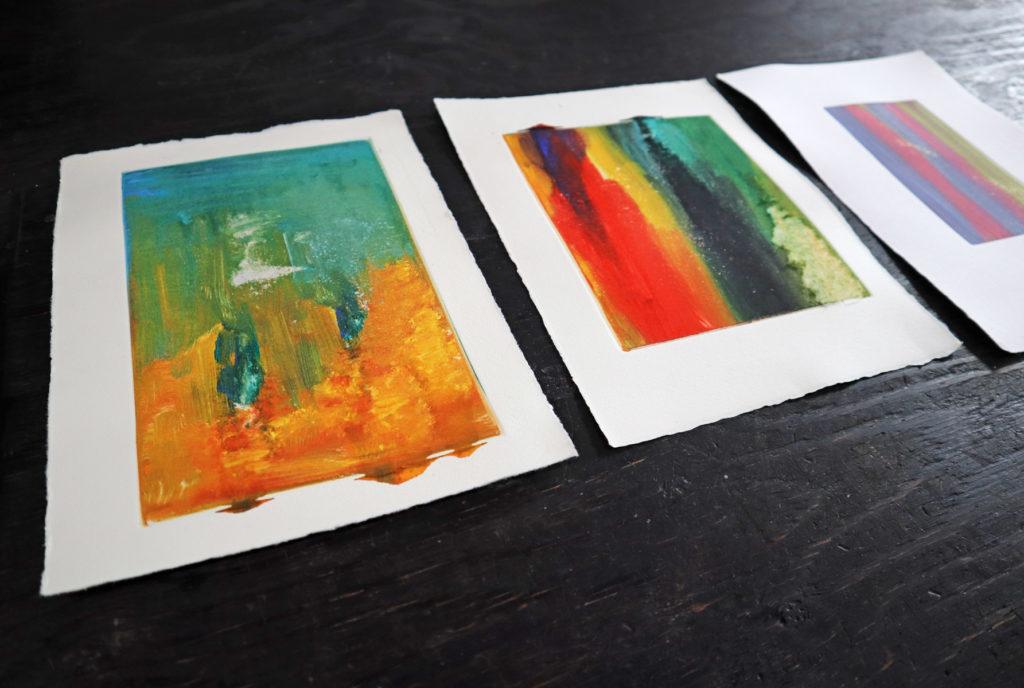 【銅版画の作り方  技法 その③】版画だけど一点もの モノタイプ(monotype)で作ってみよう