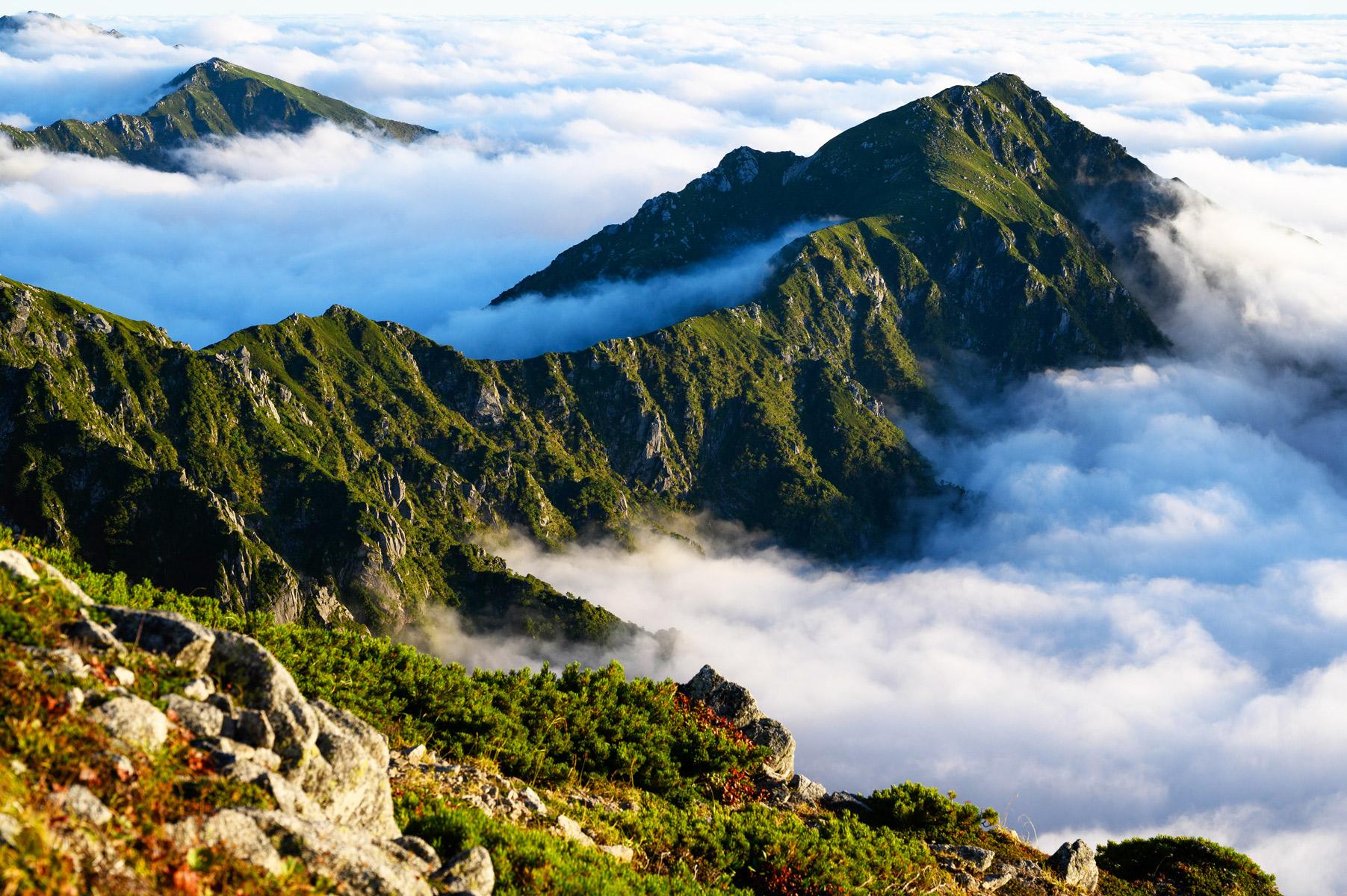 初めての登山は、超キツかったけど雲海がすごい綺麗で感動した話 木曽駒ケ岳