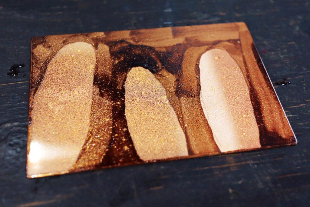 【銅版画の作り方 技法 その6】面で濃淡を出す!アクアチント(aquatint) で作ってみよう