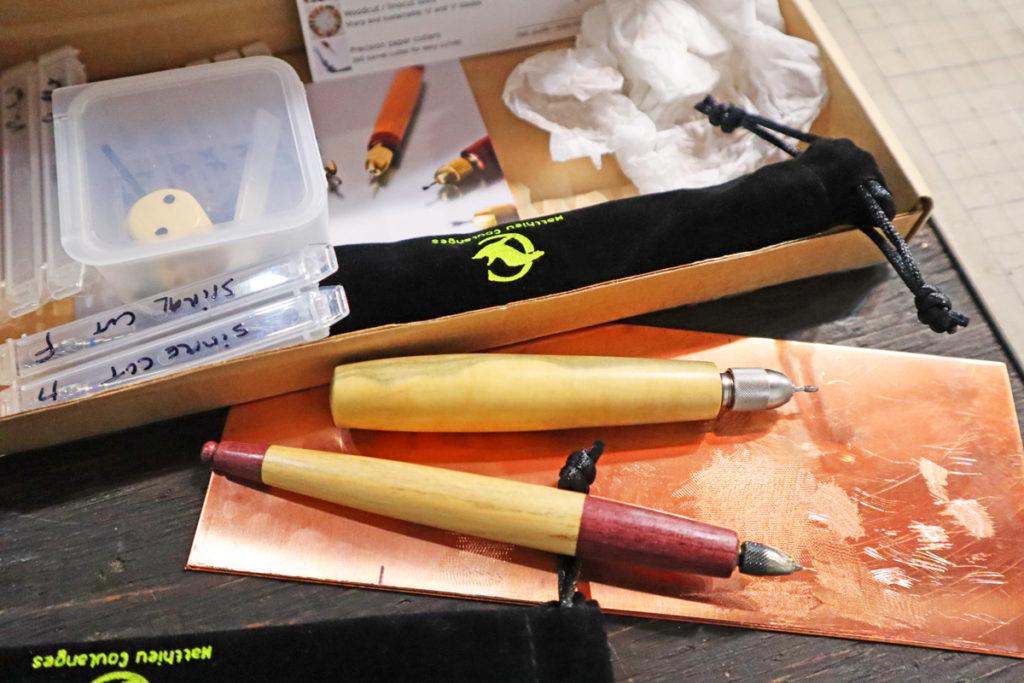 銅版画の道具をついに購入! フランスの職人さんが作る Matthieu Coulanges(マシュー クーランジュ)