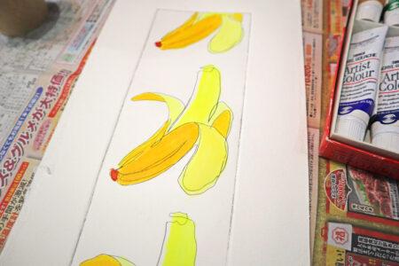 【銅版画の作り方 技法 その⑩】色を付けて仕上げてみよう 銅版画で手彩色に挑戦!